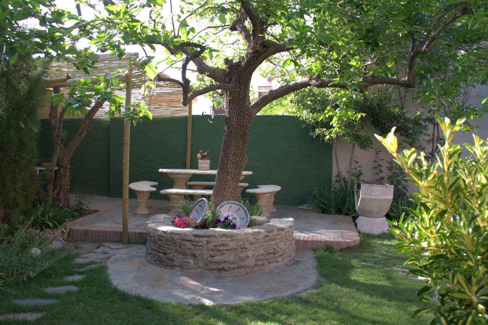 Jard n piscina casa la rubia for Casa jardin la asuncion